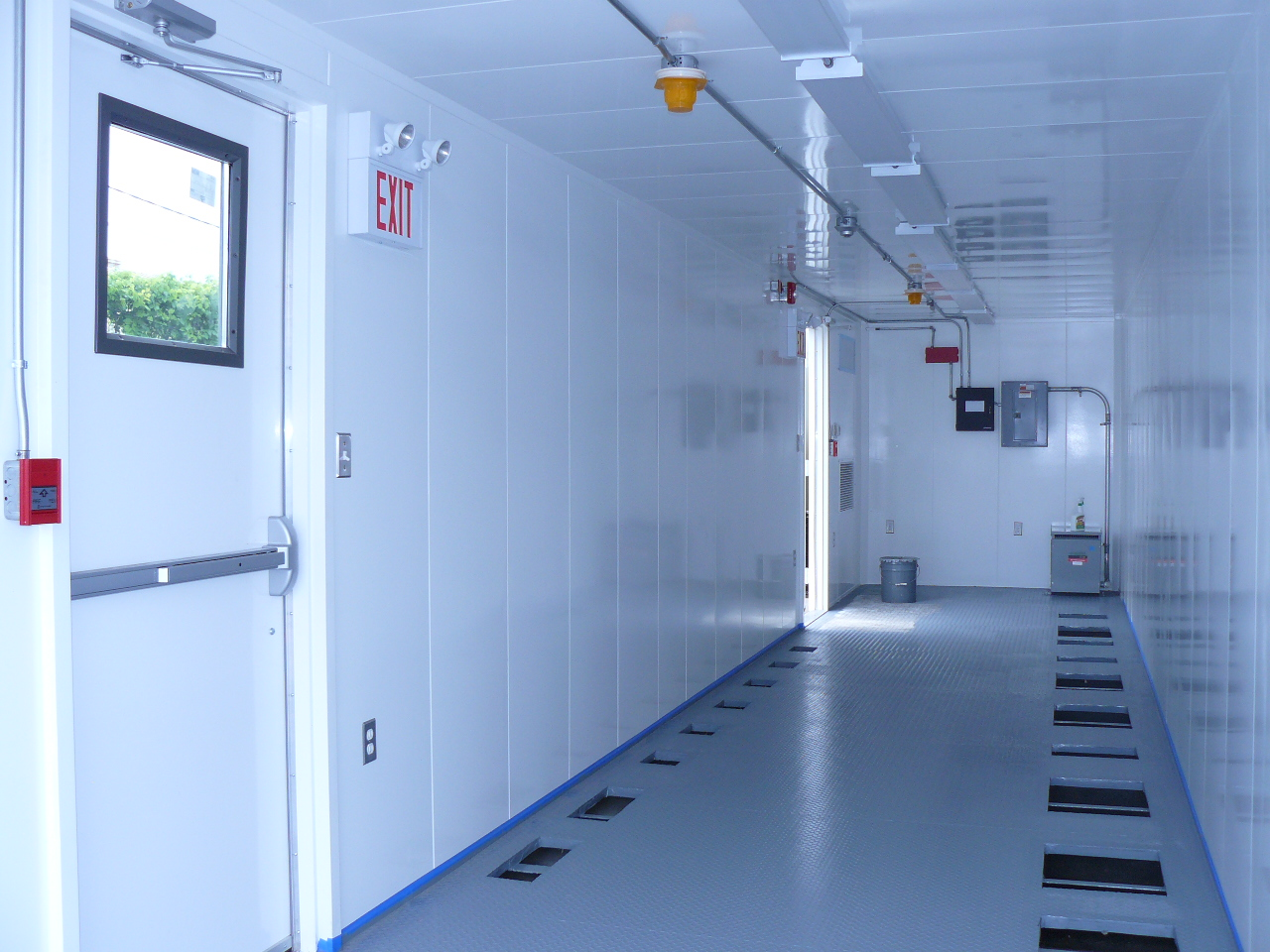 Sea Container Modified Electrical Room